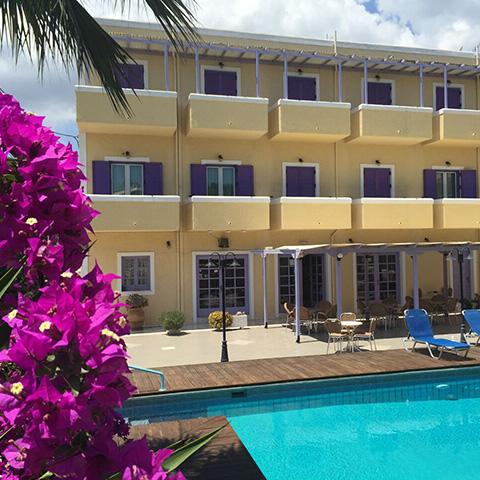 hotels in aegina -Katerina Hotel