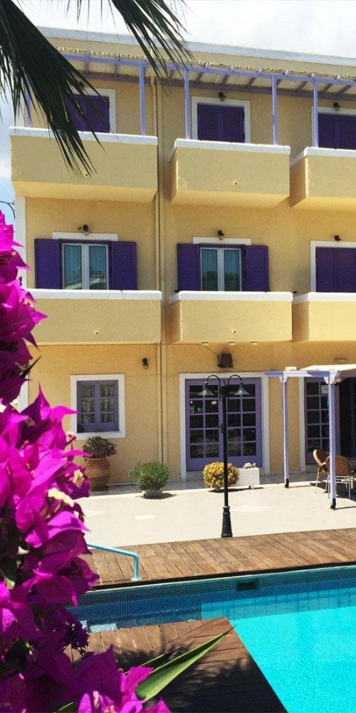 Katerina Hotel | Aegina Saronic Island exterios